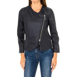 textil Mujer Chaquetas de cuero / Polipiel Armani jeans Cazadora Azul