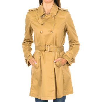 textil Mujer Trench Armani jeans Chaqueta Beige