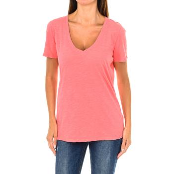 textil Mujer Camisetas manga corta Armani jeans Camiseta manga corta Rojo