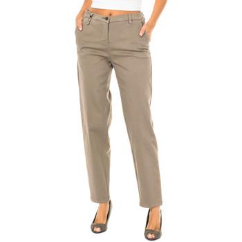 textil Mujer Pantalones chinos Armani jeans Pantalones largos Marrón
