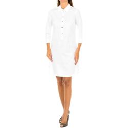 textil Mujer Vestidos cortos Armani jeans Vestido manga larga Blanco