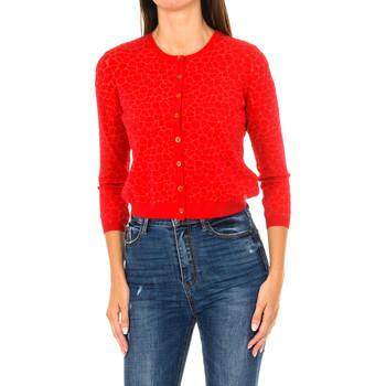 textil Mujer Chaquetas de punto Armani jeans Chaqueta de punto Rojo