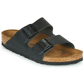 Zapatos Zuecos (Mules) Birkenstock ARIZONA LARGE FIT Negro