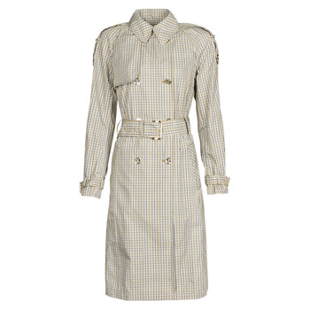 textil Mujer Trench MICHAEL Michael Kors PLAID PACKABLE TRENCH Beige