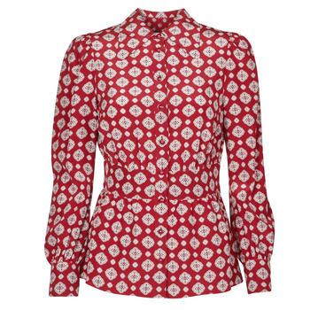 textil Mujer Tops / Blusas MICHAEL Michael Kors LUX PINDOT MED TOP Burdeo