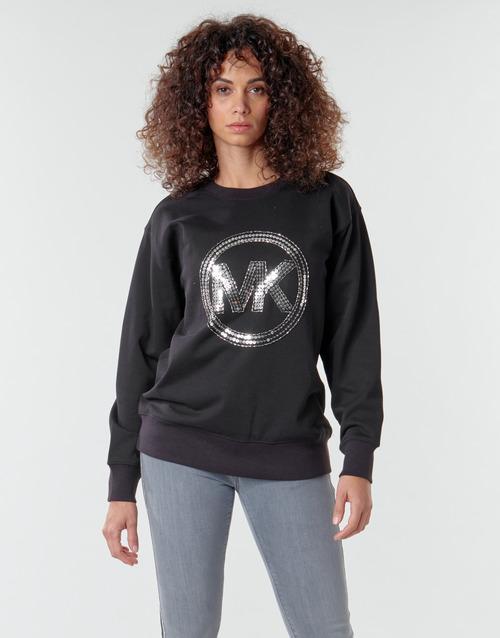 textil Mujer Sudaderas MICHAEL Michael Kors MK CRCL CLSC SWTSHRT Negro