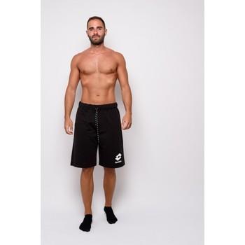 textil Hombre Shorts / Bermudas Lotto Sudadera  Bermuda con estampado (ltu013-negro) Negro