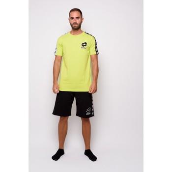 textil Hombre Camisetas manga corta Lotto Camiseta de media manga  (ltu016-verde) Verde
