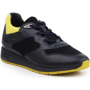 Zapatos Hombre Zapatillas bajas Geox D Shahira A D44N1A-085NY-CF43S azul marino, amarillo