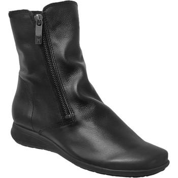 Zapatos Mujer Botines Mephisto Nessia Cuero liso negro
