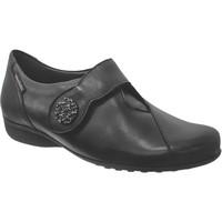 Zapatos Mujer Bailarinas-manoletinas Mobils By Mephisto Faustine Cuero liso negro