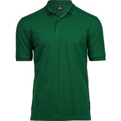 textil Hombre Polos manga corta Tee Jays TJ1405 Verde