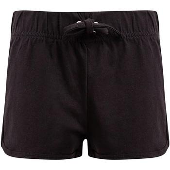 textil Niños Shorts / Bermudas Skinni Fit SM69 Negro/Negro