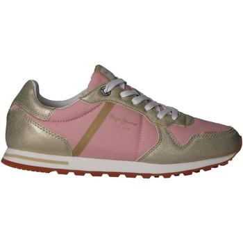 Zapatos Mujer Multideporte Pepe jeans PLS30983 VERONA W MIX Gold