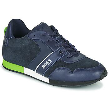 Zapatos Niño Zapatillas bajas BOSS J29225 Azul
