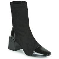 Zapatos Mujer Botines Vanessa Wu BOTTINES CHAUSSETTES À TALON BLOC Negro