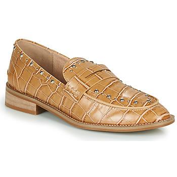 Zapatos Mujer Mocasín Vanessa Wu MOCASSINS EFFET CROCO À CLOUS Marrón