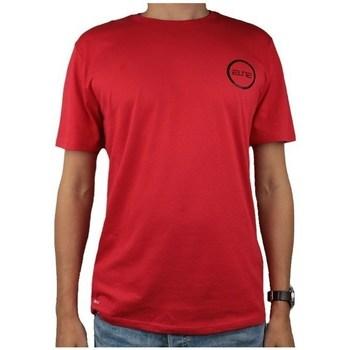 textil Hombre camisetas manga corta Nike Dry Elite Bball Tee Rojos