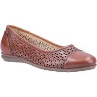 Zapatos Mujer Bailarinas-manoletinas Hush puppies  Tostado