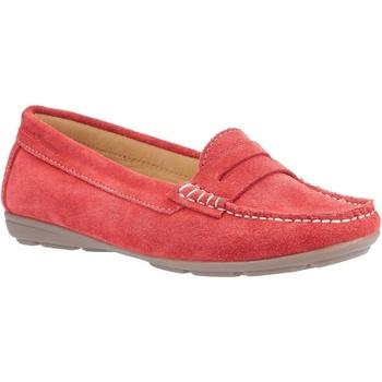 Zapatos Mujer Mocasín Hush puppies  Rojo