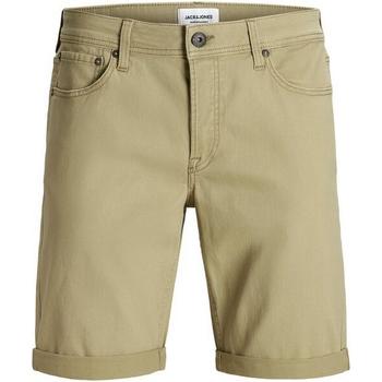 textil Niño Shorts / Bermudas Jack & Jones 12165951 JJIRICK ORIGINAL SHORTS AKM 799 JR KELP Beige