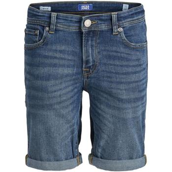 textil Niño Shorts / Bermudas Jack & Jones 12167637 JJIRICK JJORIGINAL SHORTS AM 933 NOOS JR BLUE DENIM Azul