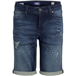 textil Niño Shorts / Bermudas Jack & Jones 12167644 JJIRICK JJICON SHORTS GE 007 IK STS JR BLUE DENIM Azul oscuro