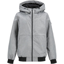 textil Niño cazadoras Jack & Jones 12165551 JJESHALE JACKET NOOS JR LIGHT GREY MELANGE Gris