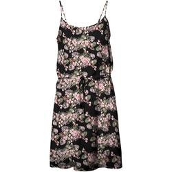 textil Mujer Vestidos cortos Vero Moda 10227824 VMSIMPLY EASY SINGLET SHORT DRESS WVN GA BLACK Negro