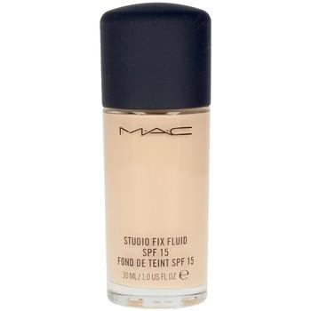 Belleza Mujer Base de maquillaje Mac Studio Fix Fluid Spf15 nc15  30 ml