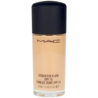 Belleza Mujer Base de maquillaje Mac Studio Fix Fluid Spf15 nc25  30 ml