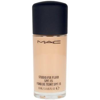 Belleza Mujer Base de maquillaje Mac Studio Fix Fluid Spf15 nw15  30 ml