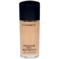 Belleza Mujer Base de maquillaje Mac Studio Fix Fluid Spf15 Foundation c3.5  30 ml