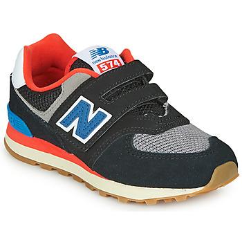 Zapatos Niños Zapatillas bajas New Balance YV574SOV Negro