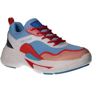 Zapatos Niña Multideporte Pepe jeans PGS30447 SINYU GRAPHIC Azul