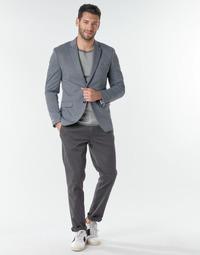 textil Hombre Pantalones chinos Selected SLHNEW PARIS Gris