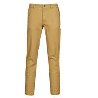 textil Hombre Pantalones chinos Selected SLHNEW PARIS Camel
