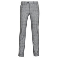 textil Hombre pantalones chinos Selected SLHCARLO Gris