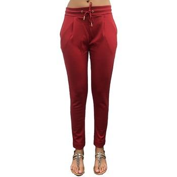 textil Mujer Pantalones de chándal LPB Woman Les Petites bombes Pantalon Jogger Lipstick Rouge W19V1103 Rojo
