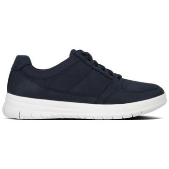 Zapatos Hombre Zapatillas bajas FitFlop TOURNO TM LACE-UP SNEAKERS - MIDNIGHT NAVY MIDNIGHT NAVY