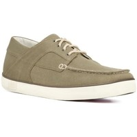Zapatos Hombre Derbie FitFlop MONTY TM CANVAS - DK OLIVE DK OLIVE