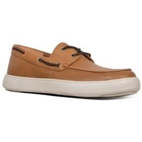 Zapatos Hombre Zapatos náuticos FitFlop LAWRENCE BOAT SHOES - LIGHT TAN LIGHT TAN