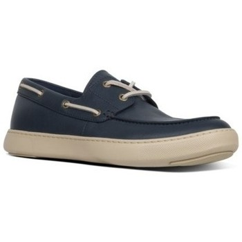 Zapatos Hombre Zapatos náuticos FitFlop LAWRENCE BOAT SHOES - MIDNIGHT NAVY CO MIDNIGHT NAVY CO