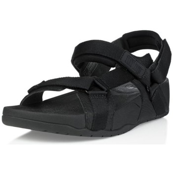Zapatos Hombre Sandalias FitFlop HYKER TM MAN - BLACK (LEATHER) BLACK (LEATHER)
