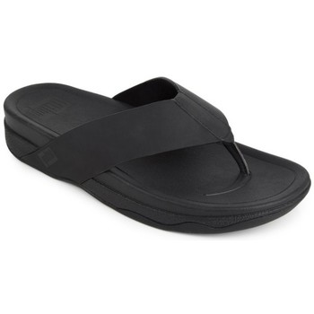 Zapatos Hombre Chanclas FitFlop SURFER TM TOE POST IN NEOPRENE - BLACK BLACK