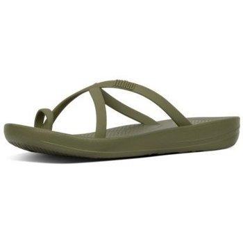Zapatos Mujer Chanclas FitFlop iQUSION WAVE - SLIDES - AVOCADO es SLIDES - AVOCADO es