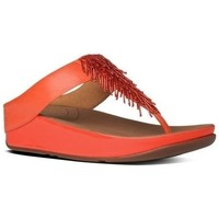 Zapatos Mujer Chanclas FitFlop Cha Cha TM - Flame Leather - ESAURIMENTO Flame Leather - ESAURIMENTO