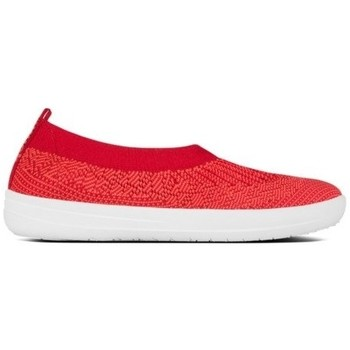 Zapatos Mujer Bailarinas-manoletinas FitFlop ÜBERKNIT TM BALLERINA - CLASSIC RED CLASSIC RED