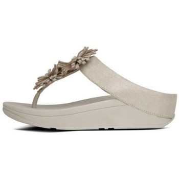 Zapatos Mujer Chanclas FitFlop SKYROCKET TM TOE-POST - PALE GOLD PALE GOLD