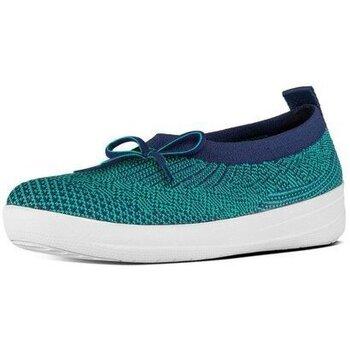 Zapatos Mujer Bailarinas-manoletinas FitFlop ÜBERKNIT TM BALLERINA - MIDNIGHT NAVY MIDNIGHT NAVY
